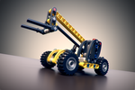 Lego Mini Telehandler by DTM-51