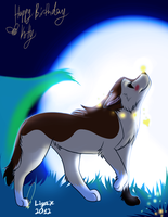 moonlite greets you by Ligax