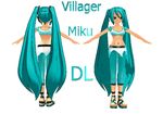 Villager Miku by Jalmod