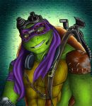 Donatello Duz Machines (Collab) by CarnalClown