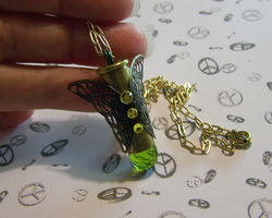 Peridot Butterfly Bullet by mymysticgems
