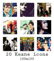 Keane icons - 100x100 by The-Shadowsea