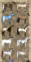 Adoptables by Scutterland - One left by Scutterland