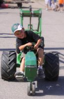 Kiddie Tractor Pull by eyenoticed