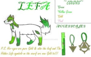 .:Lefa's New Ref:. by kyubigirl