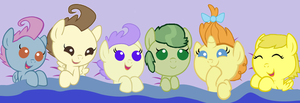 The New Baby Mane Six by 3D4D