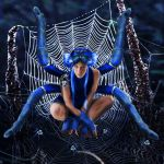 Blue Tarantula by Rene-L