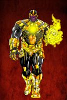 Thanos of Sinestro Corps - Shatteredweb colors by SpiderGuile