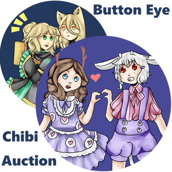 [Commission Auction] Button Eye Chibi [Closed] by yukicole02