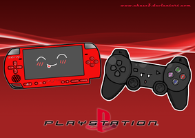 .:PSP and PS3:. by Chazx3