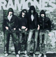 Ramones Paint By Number Art Kit by numberedart