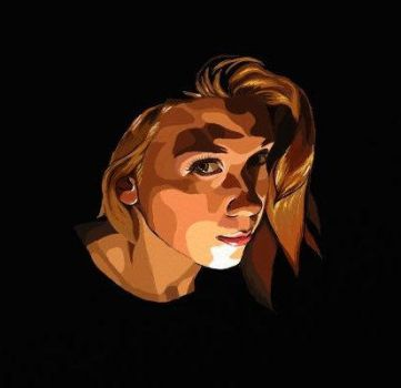 Self portrait in the style of 'A Scanner Darkly' by EnigmaticDoodle