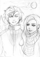 hp spoil: ted and victoire by kiradream