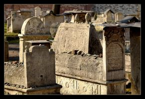The Cemetery At The Remuh Synagogue In Cracow - 3 by skarzynscy