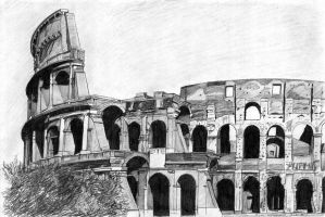 colosseum rom by Cyb007