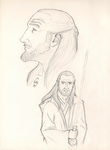 Master Qui Gon - process by MithiorenIthere