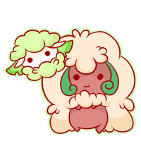 Dex challenge: 546-547 Cottonee and Whimsicott by Chibi0Wolfie