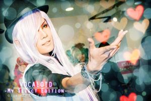 Cosplay : Gackpoid Heart by Zeasonal