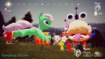 Pending Storm with Pikmin vs. Bulborb by PonyPikmin1998