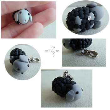 Sheep Charm by melijan