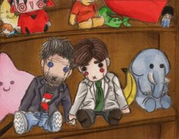 .House MD.Puppets. by Ery-chan