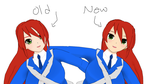 [MMD] WIP Old or New Face??? [Already decided] by kilala1148
