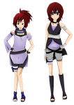 Ayame before and after by BunniesRPpl2