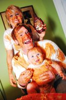Family Food Fight 1 by SublimeBudd