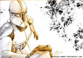 Clone Trooper by Dak--Commstar