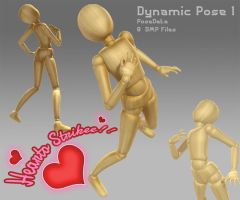 Dynamic Pose-1 Heart Strike!/Agony! by The-Pose-a-bilities
