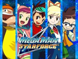 Megaman Starforce Groups by Bly95