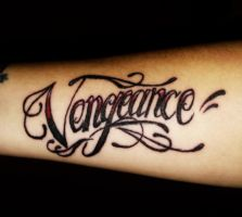 Vengeance Tattoo by maga-a7x