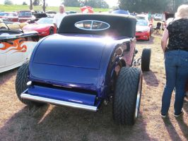 32' blue Ford Roadster D by Eagle07