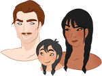 Bennets Parents by oCrystal