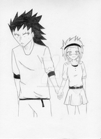 Gajeel x Levy FT ''First date'' part 1 by Yaoi-Angel99