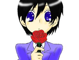 Xion with rose OHSHC parody by NekoRoxasXD