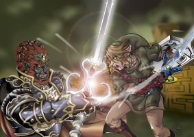 Twilight Princess Final Battle by Joelchan