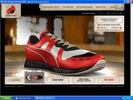 My Perfect Puma Shoe by Orakuru