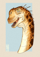 Camarasaurus by CamaraSketch