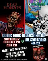 Zombies vs Aliens Comic Show by project4studios