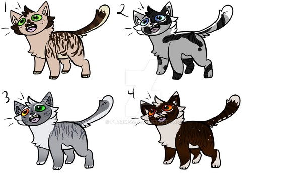 Cat adopts by KittycatRolePlayer
