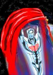 Captain Atom Vs Superman by adamantis