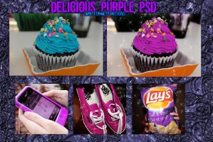Delicious Purple PSD by DontForgetEdiitions