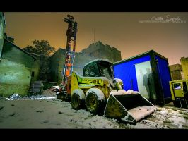 Tractorase aurii - HDR RAW by vxside