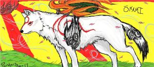 Okami Amaterasu by PandoraBox17