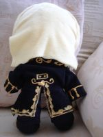 Lestat Plush Back View by Eadlin