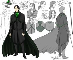 Snape Headmaster Design by Angel-soma