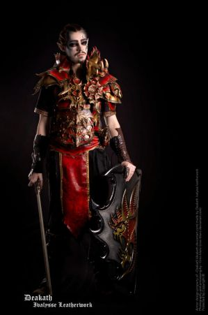 Photoshoot 2013 : Chaos Male Armor by Deakath
