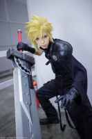 Cloud Strife From Final Fantasy VII AdventChildren by Akira0617
