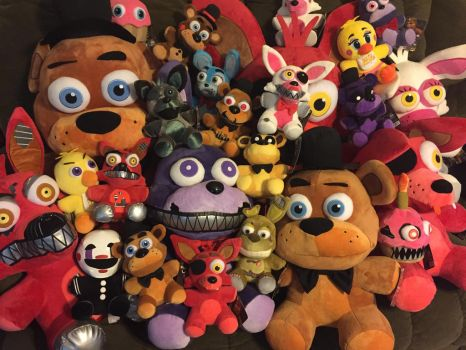 FNaF Funko Plush Collection 6/23/2017 by WickedKittyGaming
